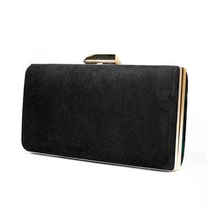 Load image into Gallery viewer, Cocktail Clutch Bag - Black