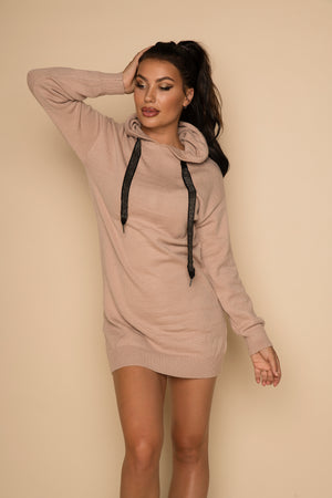 Clare Hoodie Taupe