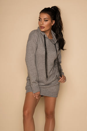 Load image into Gallery viewer, Clare Hoodie Grey