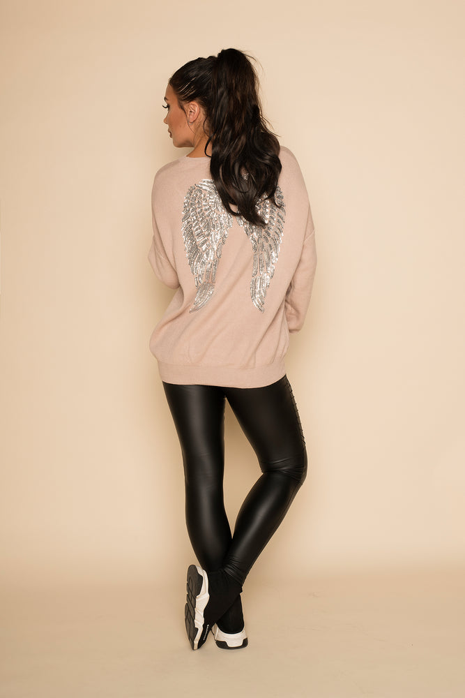 Angel Jumper Beige