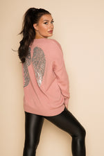 Angel Jumper Pink