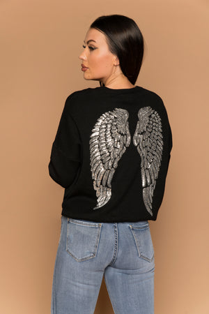 Angel Jumper Black