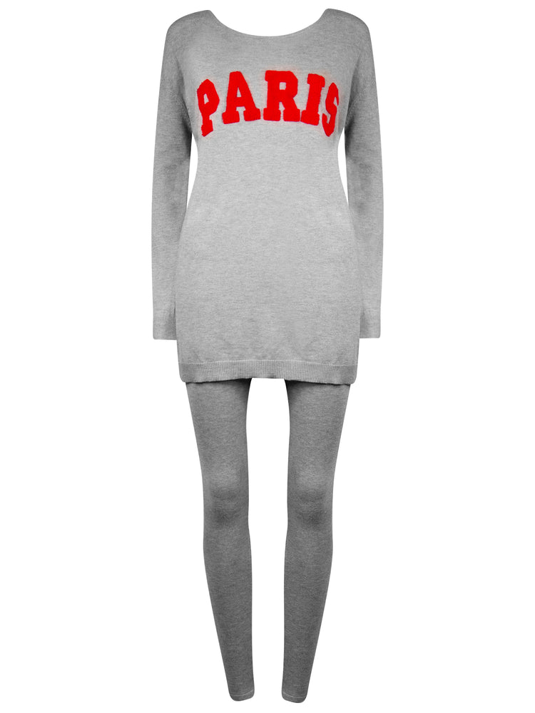 Load image into Gallery viewer, 'Paris' Loungewear Grey