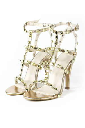 Stacey Studd Heels Rose Gold