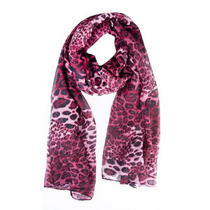 Tamzin Tiger Scarf Purple