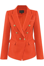Bal Orange Structured Blazer