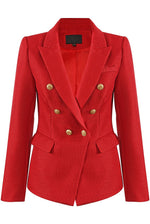 Bal Red Structured Blazer