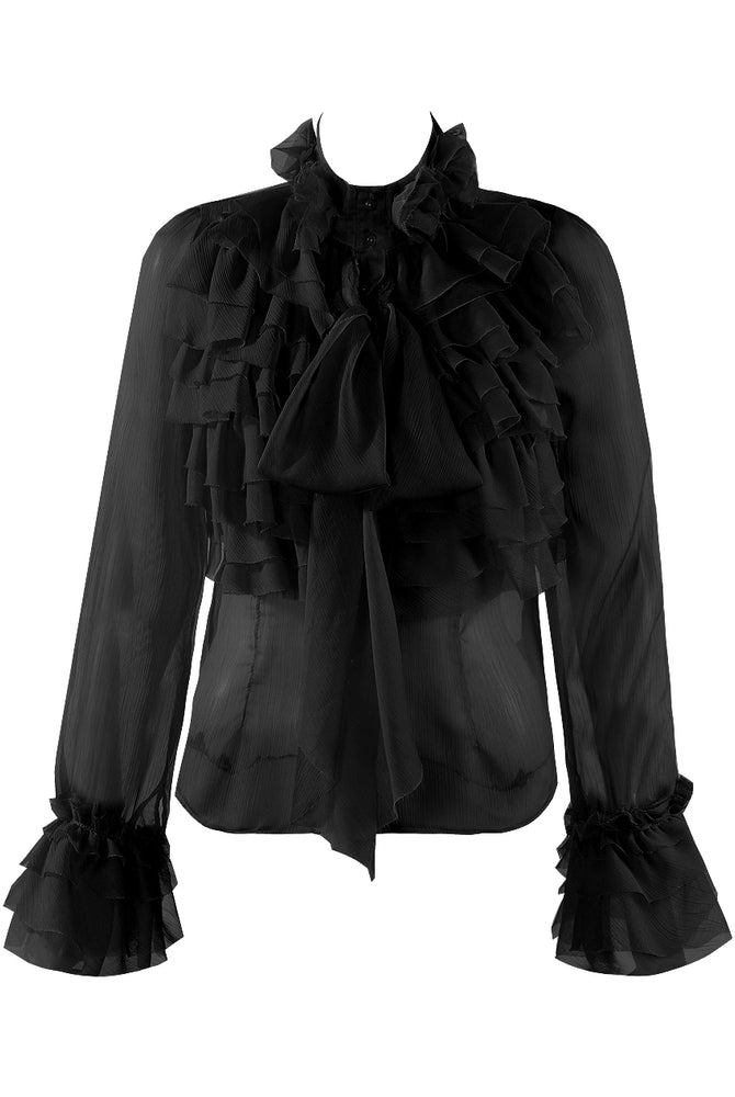 Victoria Blouse Black