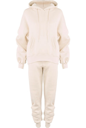 Carla Hooded Tracksuit Cream