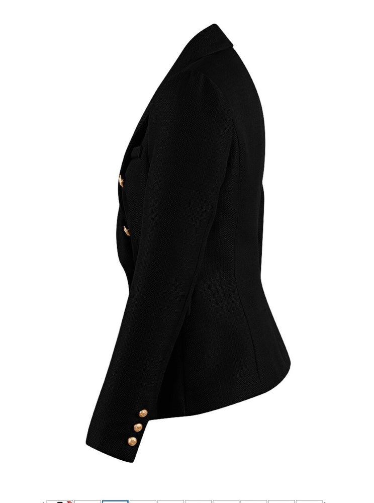 Bal Black Structured Blazer