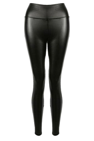 Pukka Up Leather Look Leggings