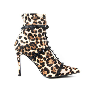 Load image into Gallery viewer, Tino Leopard Print Boots