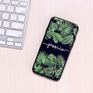 Soft Black Custom Phone Case