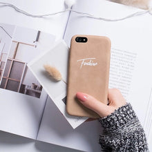 Load image into Gallery viewer, Premium Leather Personalized Phone Case