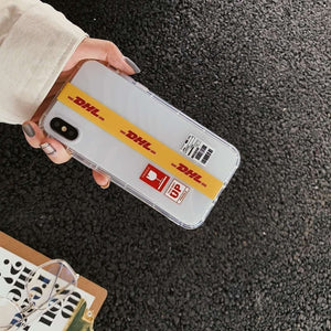 DHL Package Phone Case