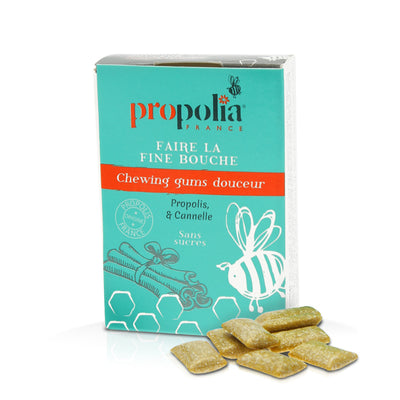 Chewing-gum Propolis & Cannelle 24g