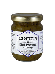 confiture de Kiwi Pomme Orange du Pays Basque - Loreztia