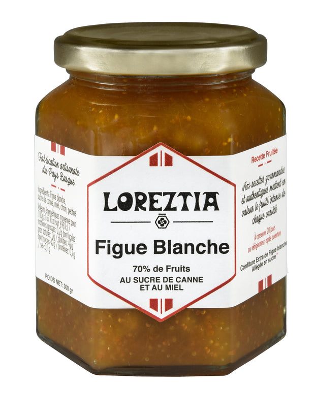 confiture de Figue Blanche du Pays Basque - Loreztia