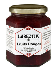 confiture de Fruits Rouges du Pays Basque - Loreztia