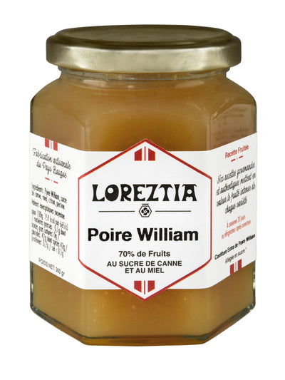 confiture de Poire William du Pays Basque - Loreztia