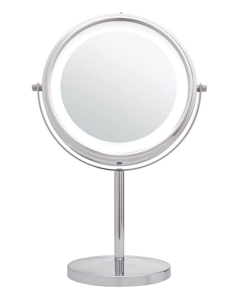 10x Magnifying Vanity Mirror with Lights, 360 Degree Rotation
