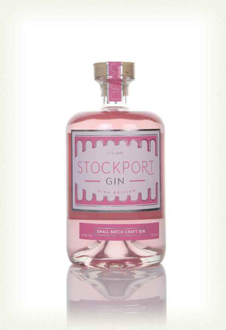 Stockport gin Pink Edition