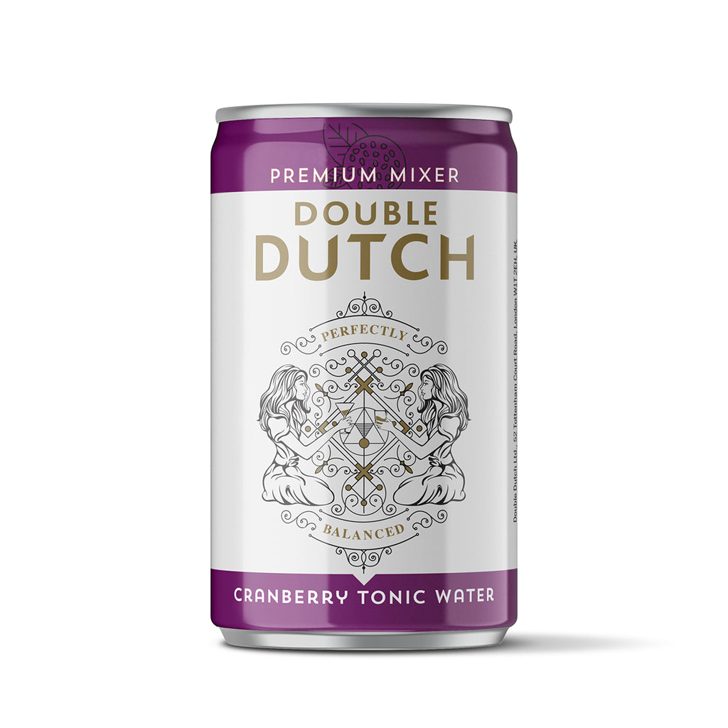 Double Dutch Cranberry and Ginger Tonic