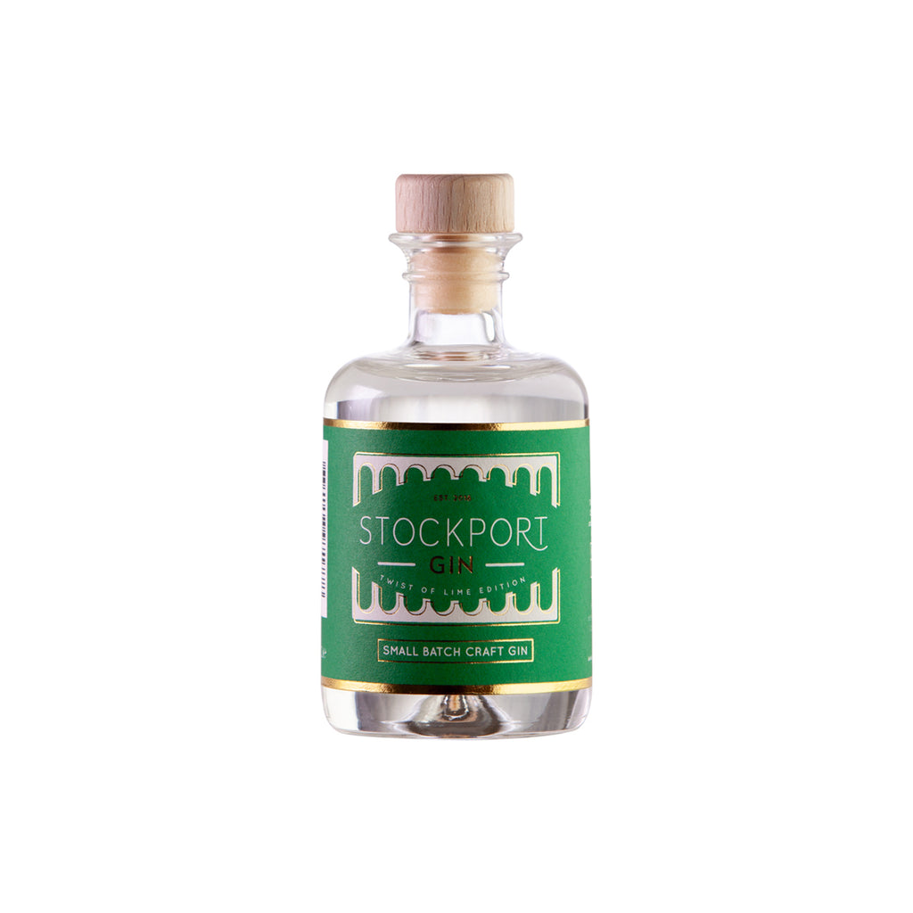 Stockport Gin Twist of Lime Edition - 5cl Bottle