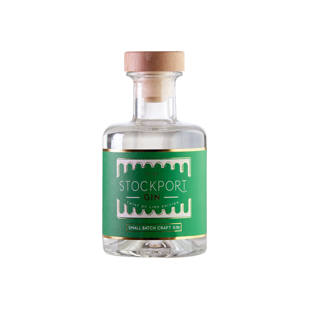 Stockport Gin Twist of Lime Edition - 20cl Bottle