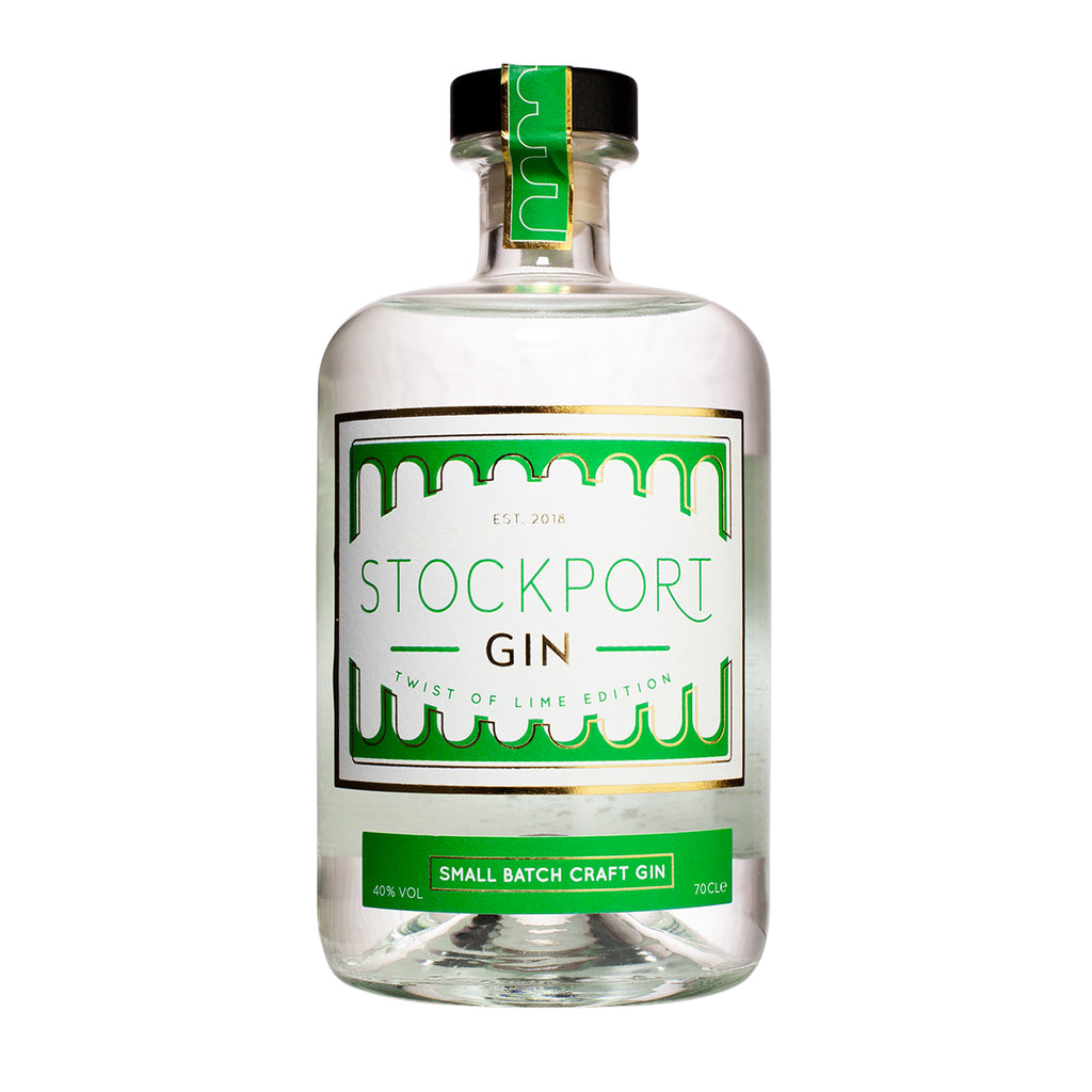 Stockport Gin Twist of Lime Edition - 70cl Bottle