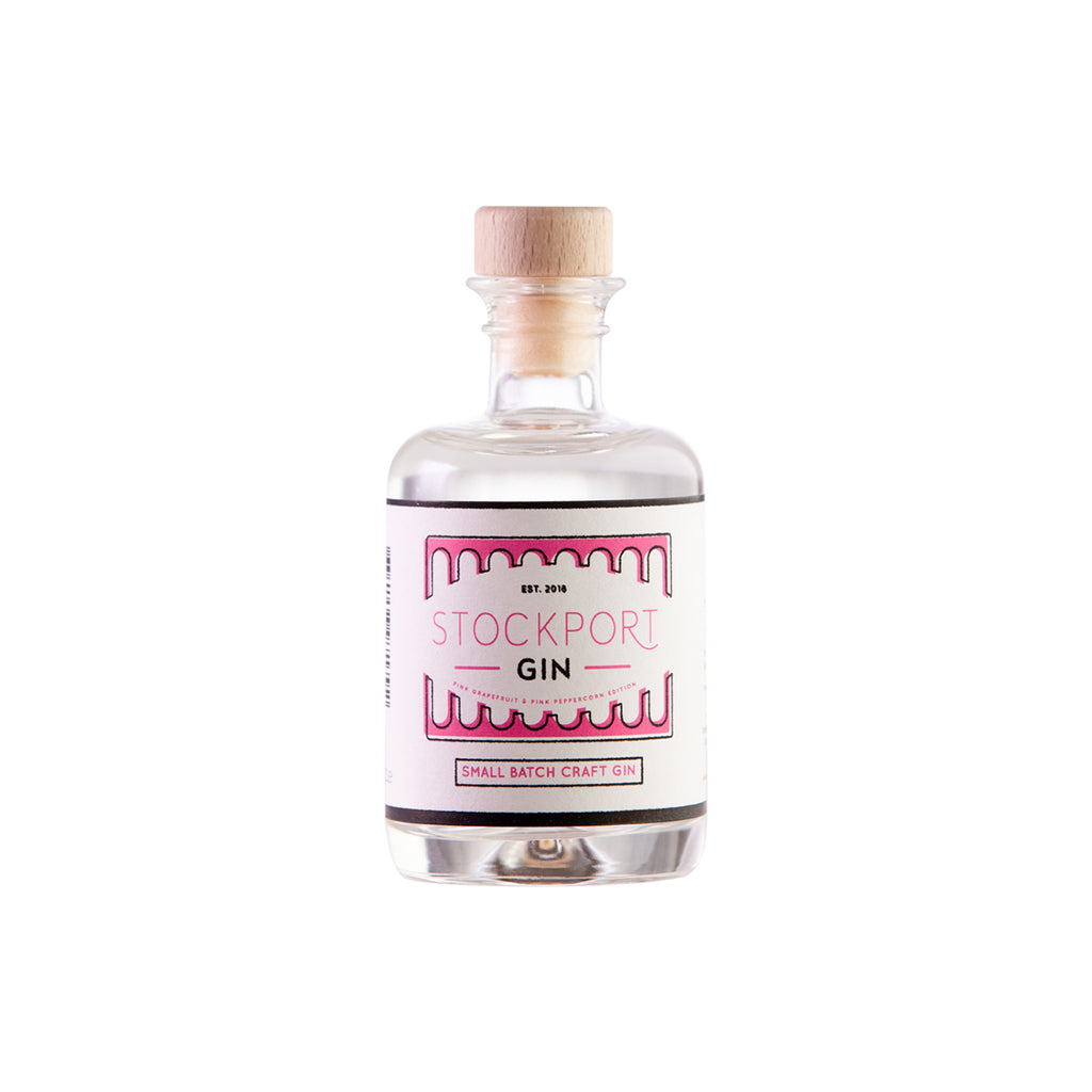 Stockport Gin Pink Grapefruit & Pink Peppercorn Edition - 5cl Bottle