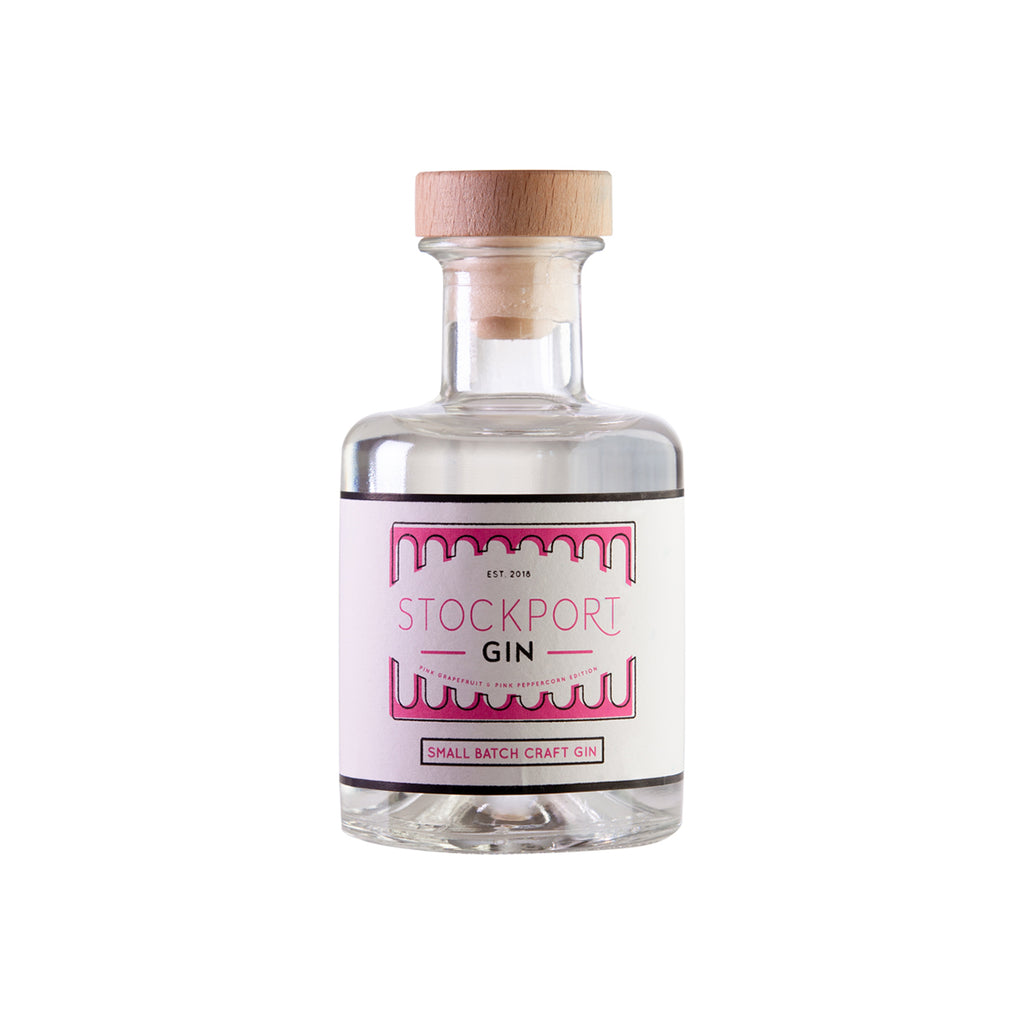 Stockport Gin Pink Grapefruit & Pink Peppercorn Edition - 20cl Bottle