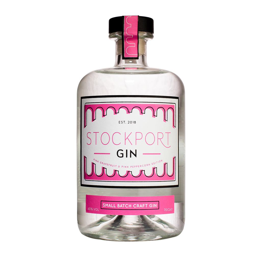 Stockport Gin Pink Grapefruit and Pink Peppercorn - 70cl Bottle