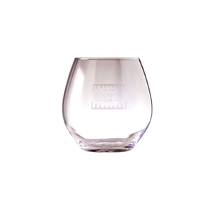 Large stemless 56cl gin glass