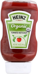 HEINZ: Organic Tomato Ketchup, 14 oz - Vending Business Solutions