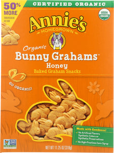 ANNIES HOMEGROWN: Honey Bunny Big Box Organic, 11.25 oz - Vending Business Solutions