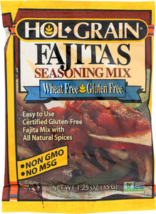 HOL GRAIN: Mix Seasoning Fajitas, 1.25 oz - Vending Business Solutions