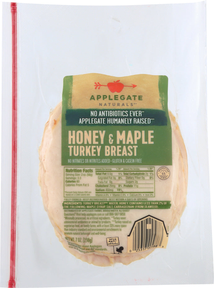 APPLEGATE: Turkey Honey Maple, 7 oz - Vending Business Solutions