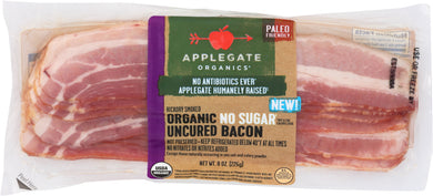 APPLEGATE: Bacon No Sugar Organic Sweet Life, 8 oz - Vending Business Solutions