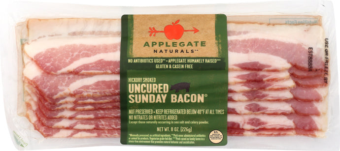 APPLEGATE: Naturals  Uncured Sunday Bacon, 8 oz - Vending Business Solutions