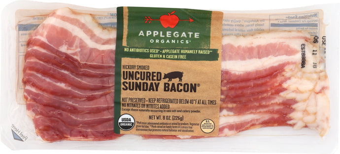 APPLEGATE: Bacon Sunday Organic, 8 oz - Vending Business Solutions
