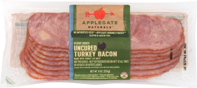 APPLEGATE: Uncured Turkey Bacon, 8 oz - Vending Business Solutions