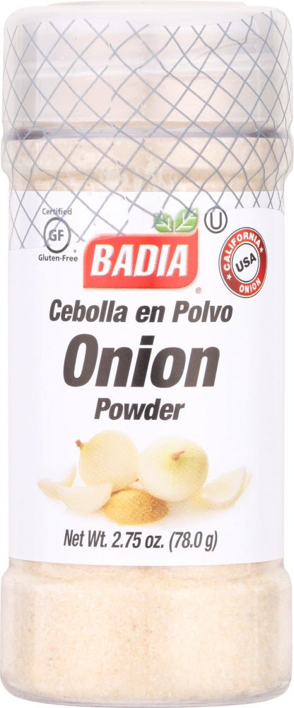 BADIA: Onion Powder, 2.75 Oz - Vending Business Solutions