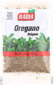 BADIA: Oregano, 0.5 oz - Vending Business Solutions