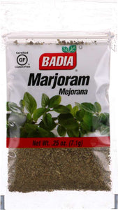 BADIA: Marjoram, 0.25 oz - Vending Business Solutions