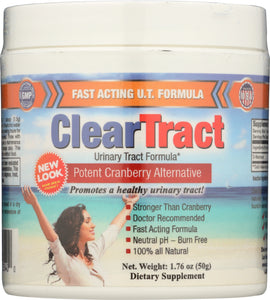 CLEARTRACT: Urinary Tract Formula Powder 50g, 1.76 oz - Vending Business Solutions