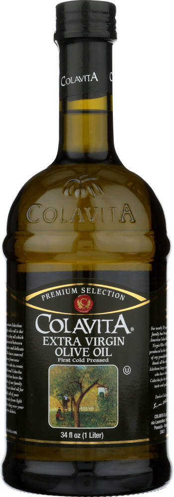 COLAVITA: Extra Virgin Olive Oil, 34 oz - Vending Business Solutions