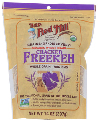 BOB'S RED MILL: Organic Whole Grain Cracked Freekeh, 14 oz - Vending Business Solutions