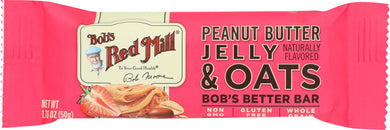 BOBS RED MILL: Bar Oat Peanut Butter Jelly, 1.76 oz - Vending Business Solutions