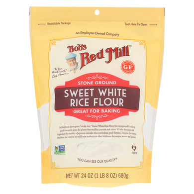 BOB'S RED MILL: Sweet White Rice Flour, 24 oz - Vending Business Solutions